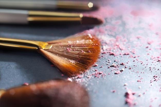 Sets make-up kwast voor professionele visagist