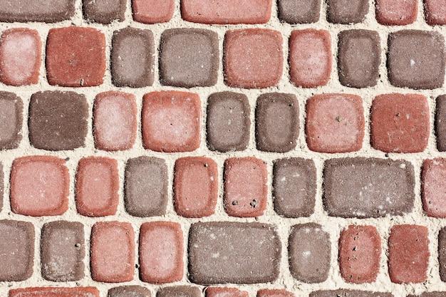 Sett bakstenen, textuur of achtergrond, steen