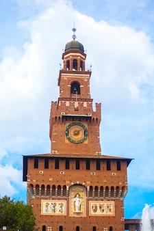 Sforza castle is een kasteel