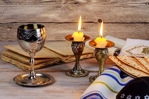 Shabbat shalom - traditioneel joods sabbatritueel