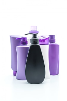Shampoo of conditioner fles