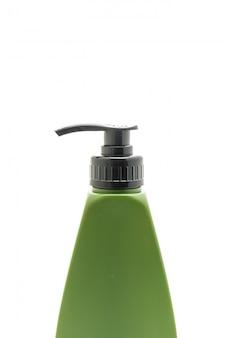 Shampoo of haar conditioner fles op wit