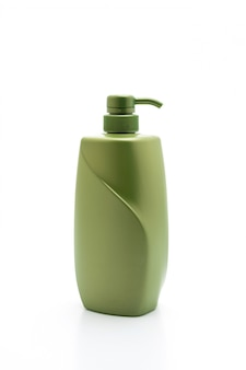 Shampoo of haarconditioner fles op witte achtergrond