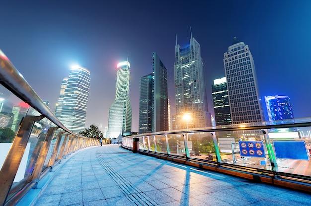 Shanghai wolkenkrabbers