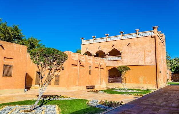 Sheikh zayed palace museum in al ain, verenigde arabische emiraten