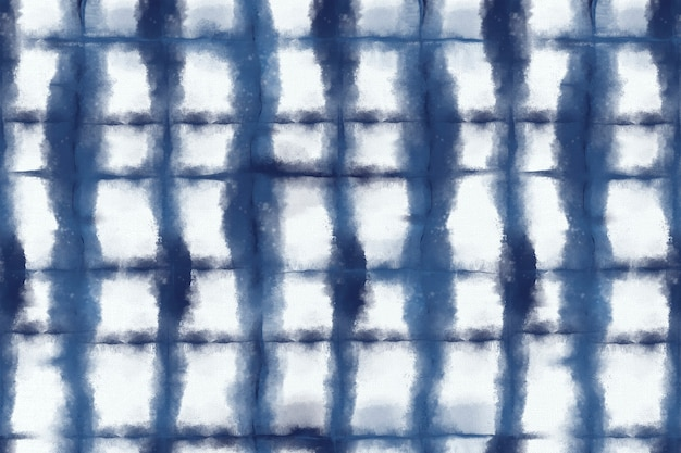 Shibori-patroonachtergrond in indigoblauwe kleur