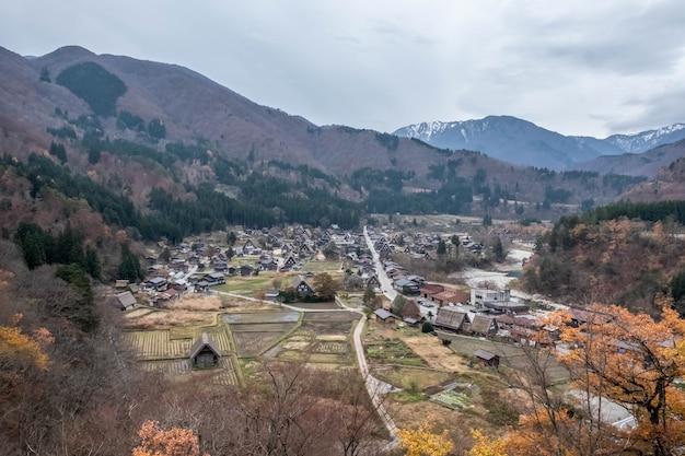 Shirakawa-go dorp in japan