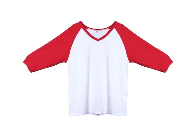 Shirt, kleren op geïsoleerd wit.