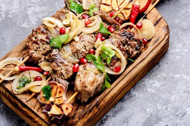 Shish kebab of shashlik