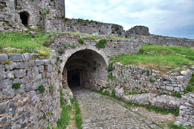 Shkodra-kasteel in balkan, albanië