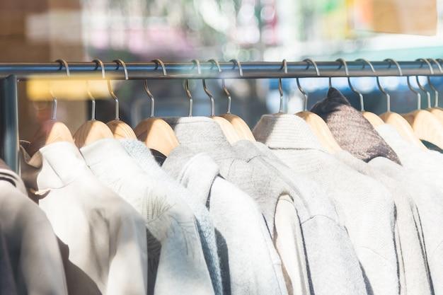 Shopping bedrijf jeans kleding mode