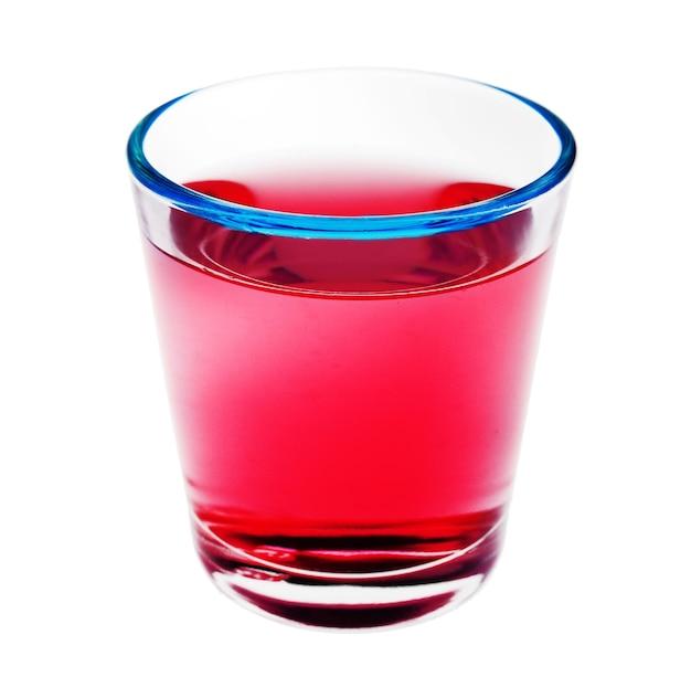 Shot drankje geïsoleerd op wit