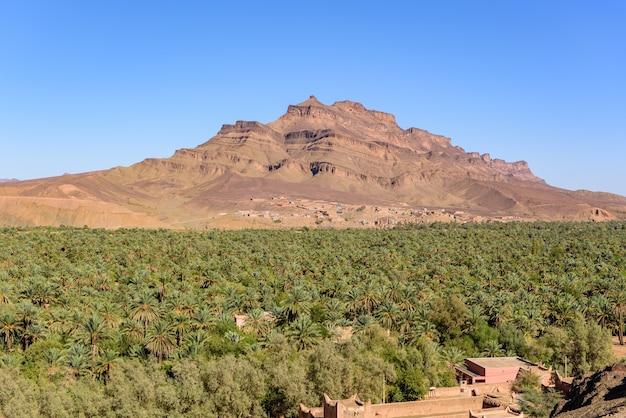 Shot van tizin -tinififft, tamnougalt, marokko