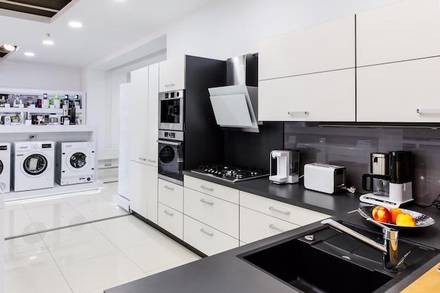 Showroom in winkel voor huishoudelijke apparaten