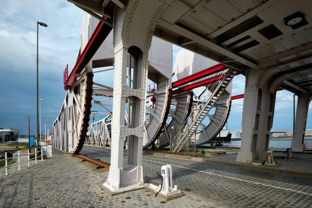Siberiëbrug vouwbrug te atwerpen belgië