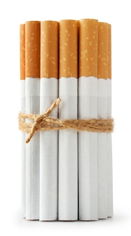 Sigaretten aan het touw