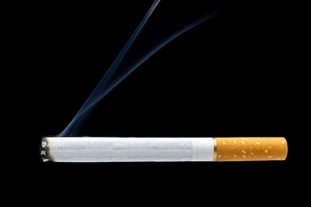 Sigarettenrook sigarettenpeuk