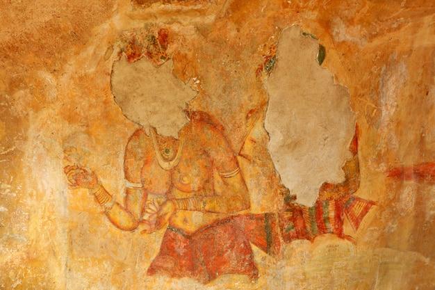 Sigiriya-fresco's