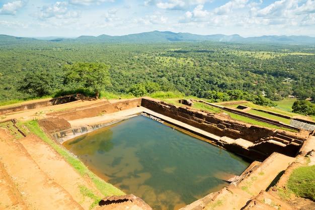Sigiriya sri lanka koninkrijk oude tempel van boeddha