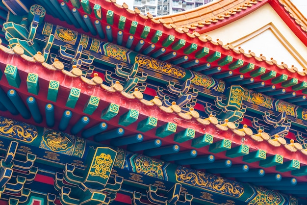 Sik sik yeun wong tai sin-tempel, hong kong