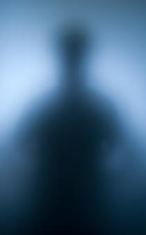 Silhouet van de menselijke geest