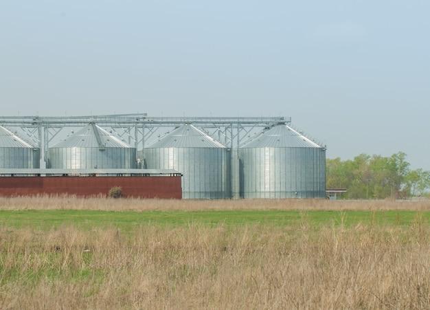 Silo's voor landbouwgoederen