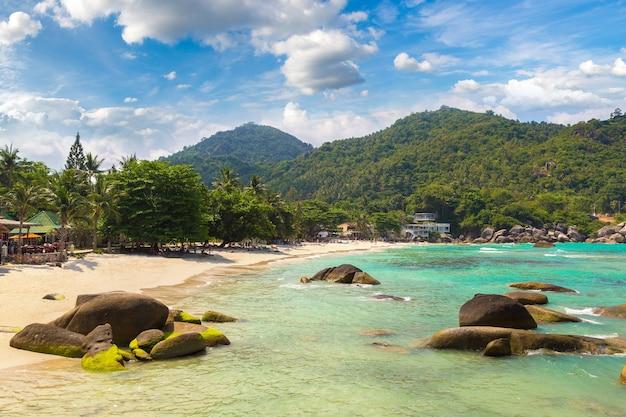 Silver beach op het eiland koh samui