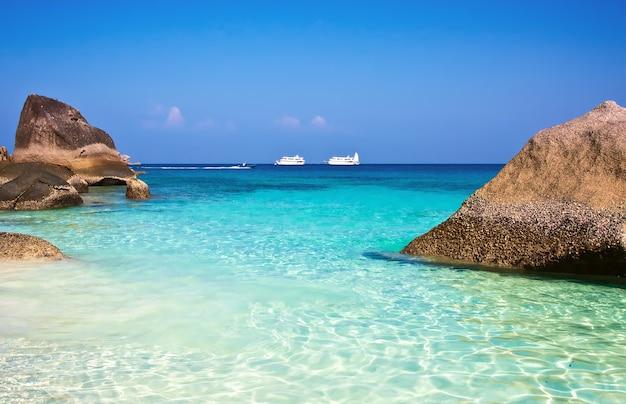 Similan-eilanden phuket thailand azië