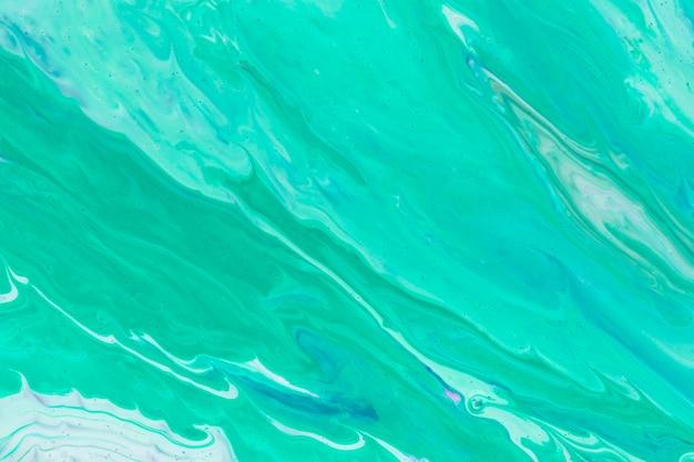 Simplistisch blauw van gieten met acryl