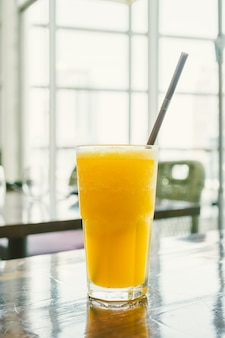 Sinaasappel smoothies