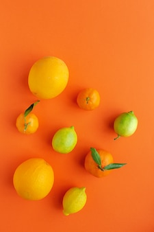 Sinaasappels, mandarijnen en citroenen