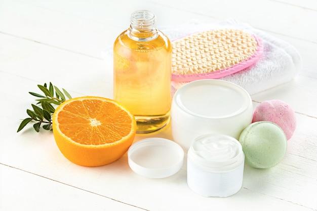 Sinaasappels olie en sinaasappel