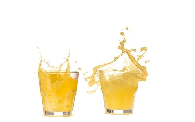Sinaasappelsap in een glas