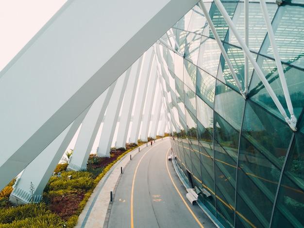 Singapore, de stadsbouwarchitectuur van de binnenstad