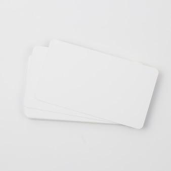 Sjabloon voor blanco visitekaartjes