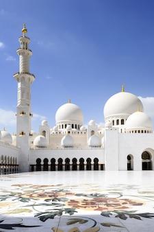 Sjeik zayed-moskee in abu dhabi,