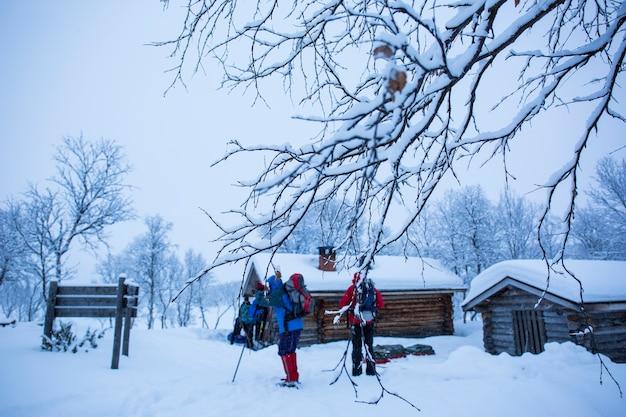Ski-expeditie in nuorgam