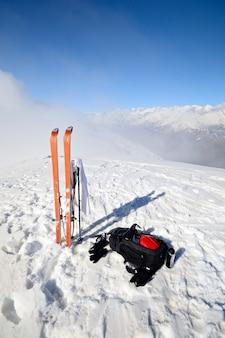 Ski touring uitrusting
