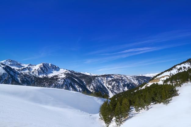 Skigebiedresort in aran valley