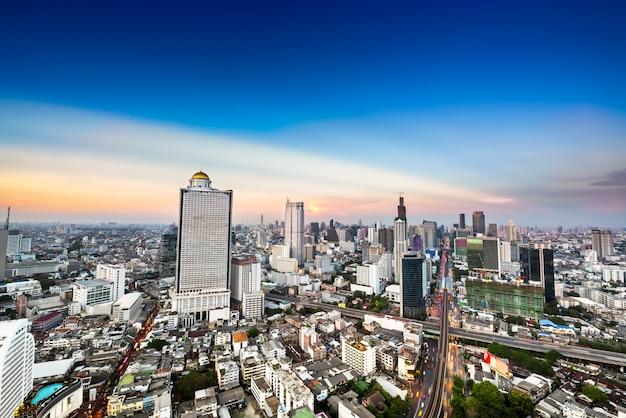 Skyline van de prachtige stad