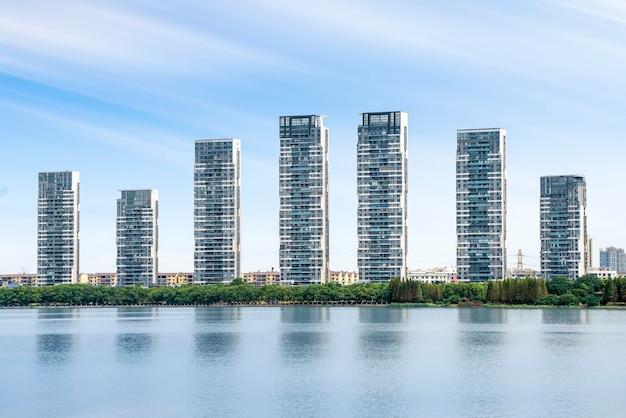 Skyline van honggutan new district, nanchang