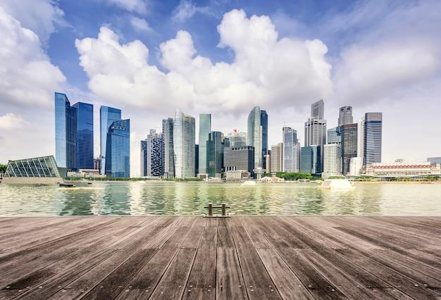 Skyline van singapore