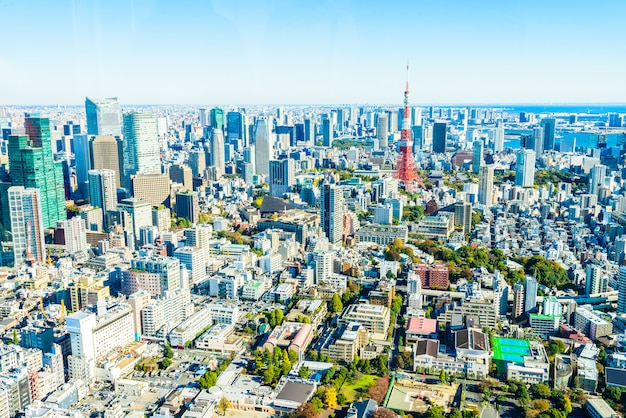 Skyline van tokio skyline