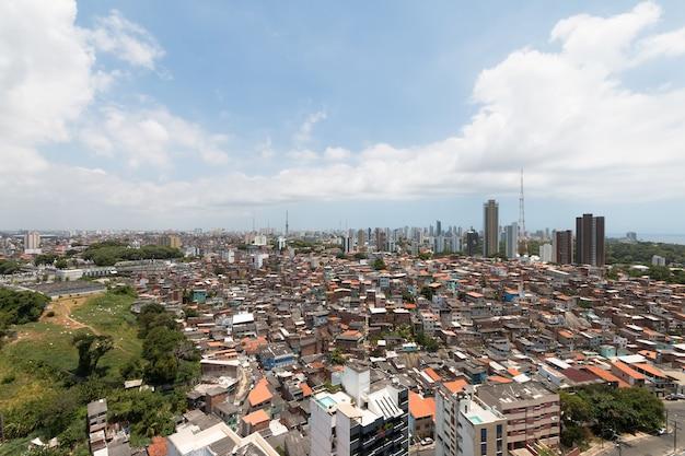 Skyline-weergave van gebouwen in de stad