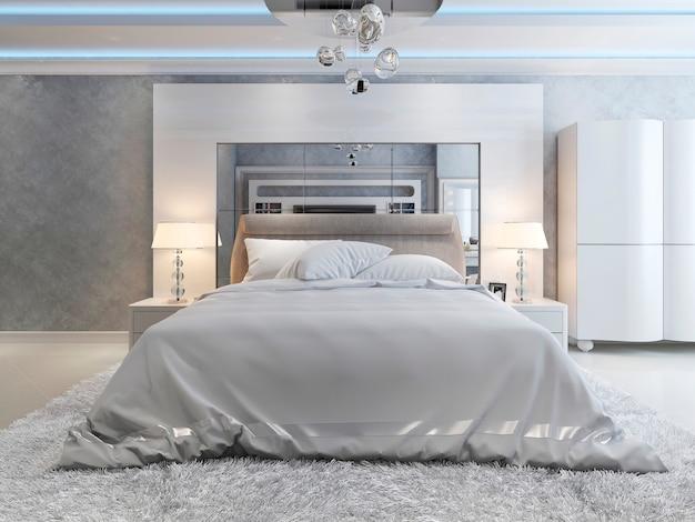 Slaapkamer art decostijl