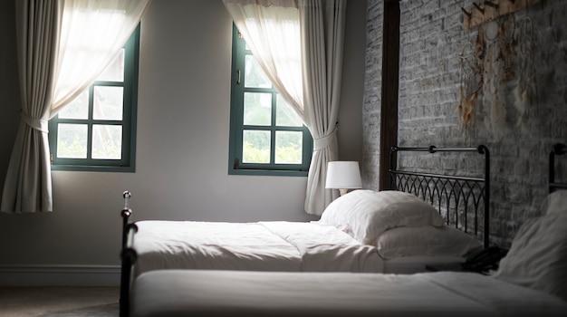 Slaapkamer comfortabel relax living deken concept