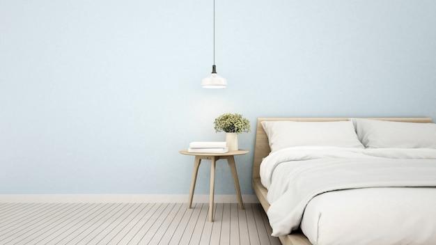 Slaapkamer in appartement of thuis
