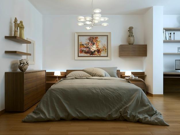 Slaapkamer in eigentijdse stijl