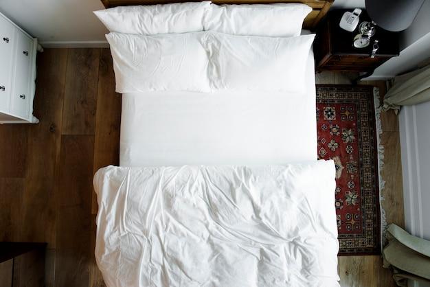 Slaapkamer zonder mensen