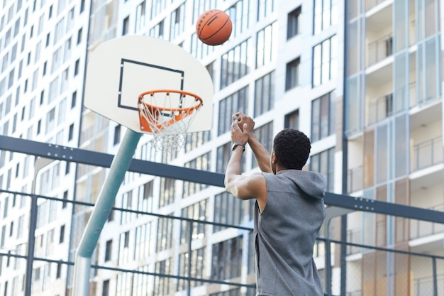 Slam dunk schieten